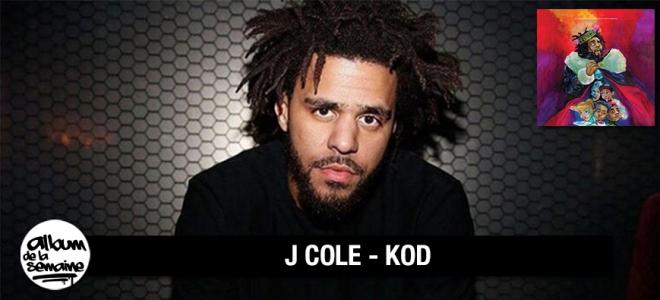 Découvre le nouvel album de J COLE - KOD