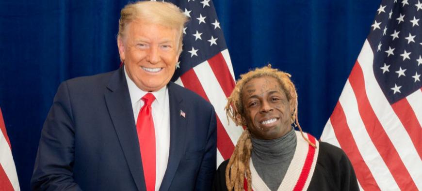 Lil Wayne espère être gracié par Donald Trump