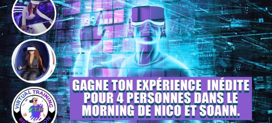 Vis une expérience inédite avec Virtual Training Revolution !