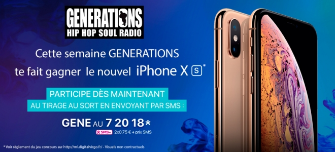 Chope ton Iphone XS!!