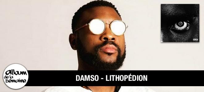 Découvre le nouvel album de DAMSO - LITHOPEDION