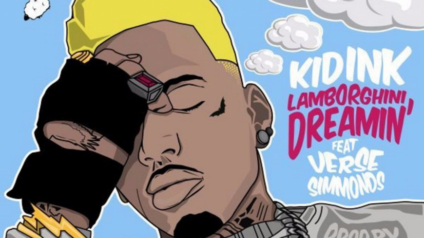 Kid Ink déjà de retour avec ''Lamborghini Dreamin''