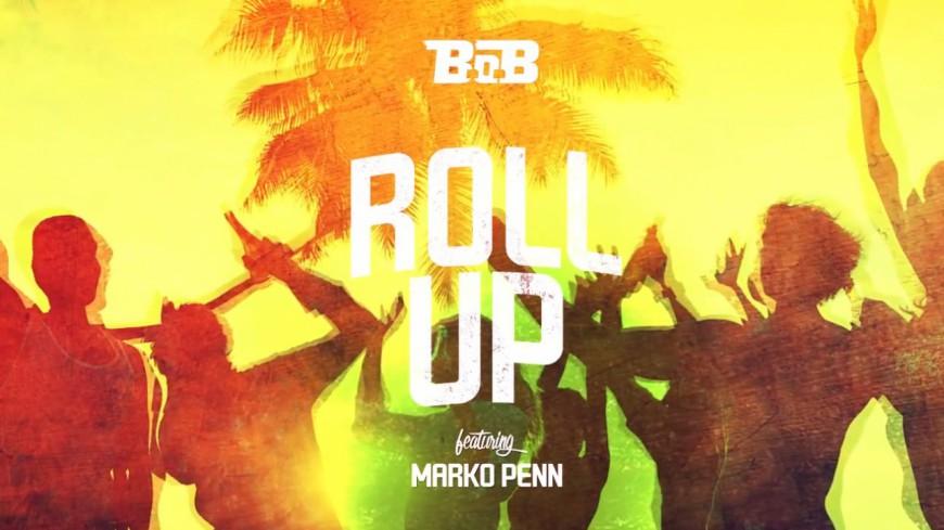 Direction la plage avec un gros Blunt pour B.o.B et son titre ''Roll Up''