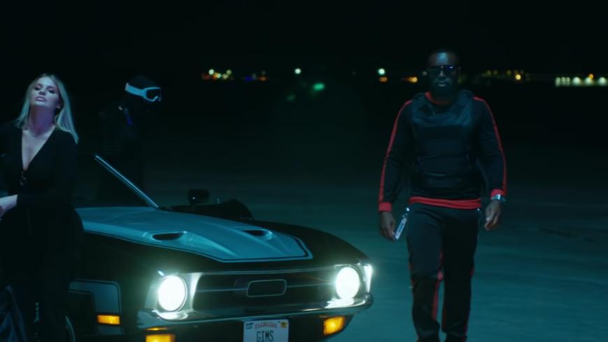 """Maître Gims nous offre une belle course-poursuite dans """"Miami Vice"""" !"""
