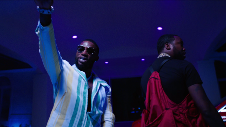 "Gucci Mane et Meek Mill s'ambiancent dans ""Backwards""!"
