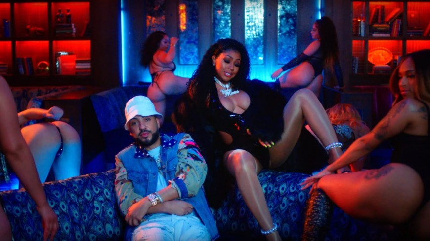 French Montana et City Girls font twerker les vixens dans ''Wiggle It'' !