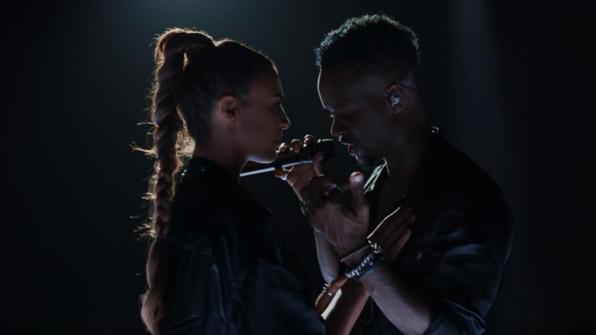 """Black M et son titre """"Léa"""" pour Vevo Live Performance"""