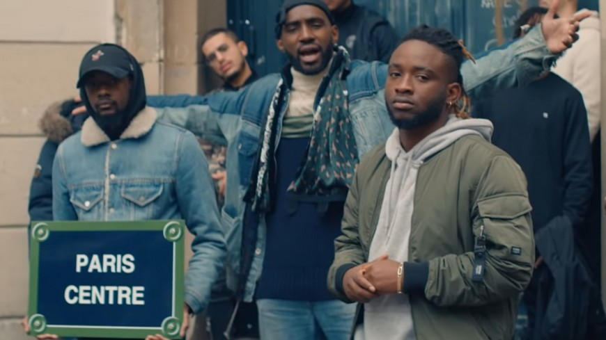 """Abou Tall nous emmène en plein """"Paris Centre"""" avec son nouveau clip !"""