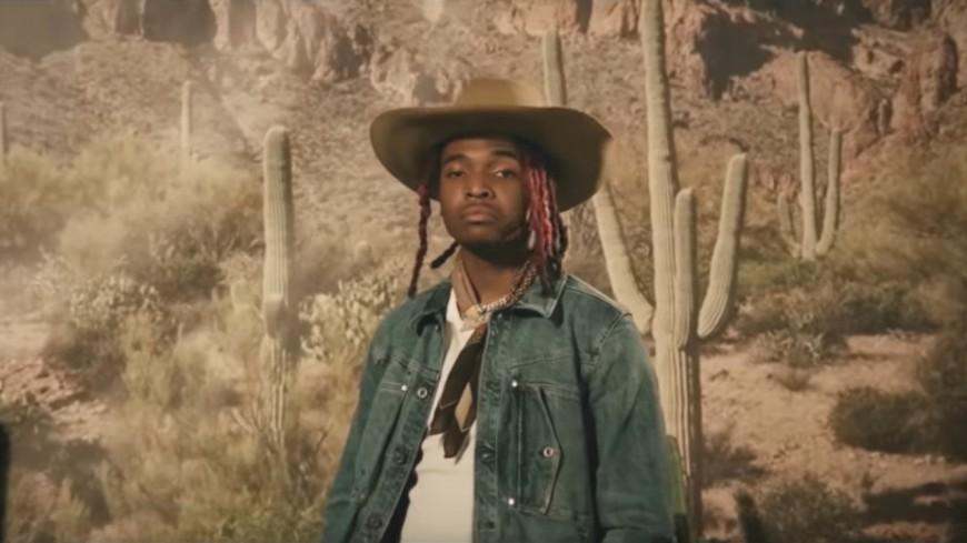 """Lil Keed en mode Far West dans """"Snake"""" !"""