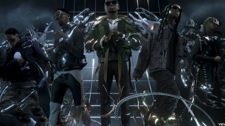 "Migos, Young Thug et Travis Scott lâchent le clip de ""Give No Fxk"""