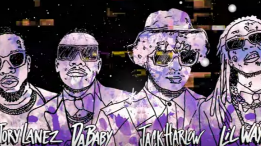 "Jack Harlow remixe ""What's Poppin"" avec DaBaby, Lil Wayne et Tory Lanez"