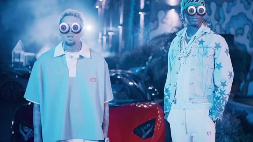 """Chris Brown et Young Thug deviennent fous dans """"Go Crazy"""""""