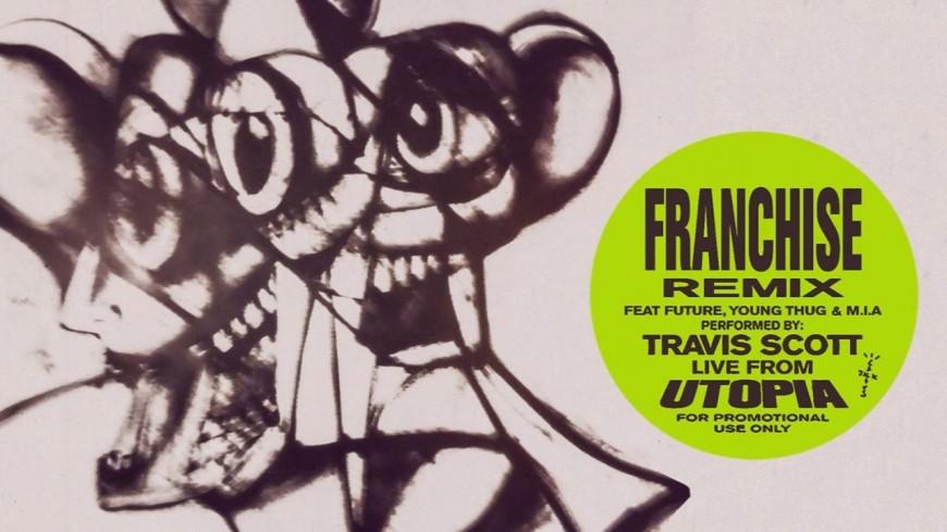 """Travis Scott : l'énorme remix de """"Franchise"""""""