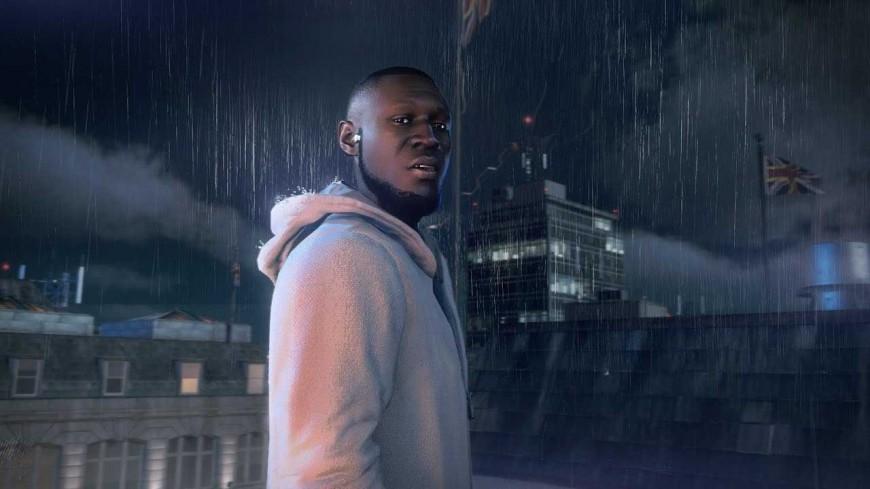 """Stormzy sous la pluie dans """"RAINFALL"""""""