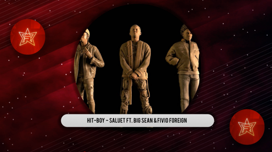 "Hit-Boy passe le ""SALUTE"" featuring Big Sean & Fivio Foreign"