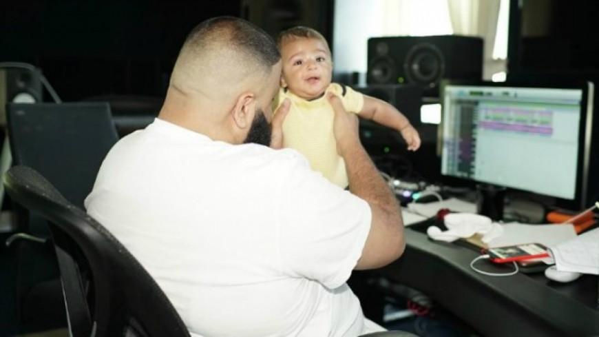 Le bébé de DJ Khaled bientôt producteur !