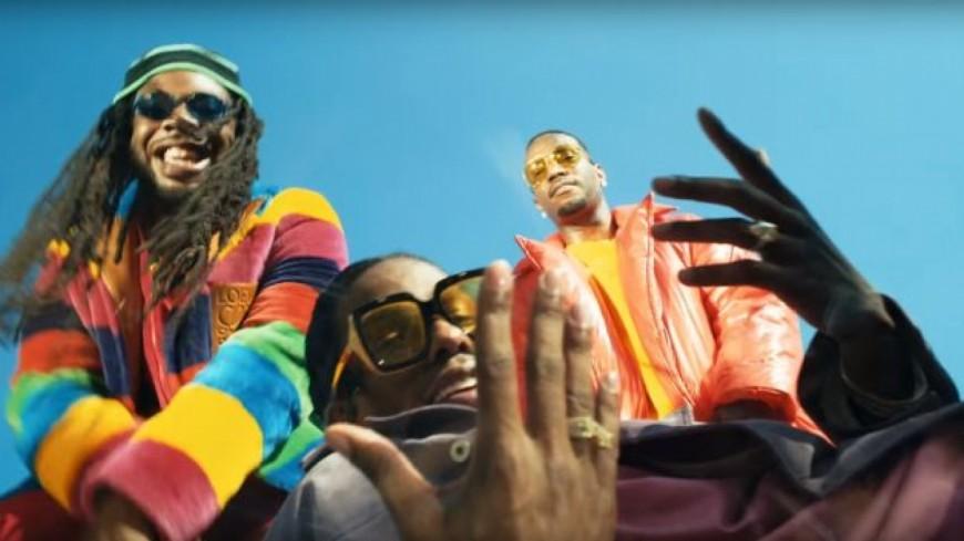 """DRAM en mode déjanté dans son nouveau clip """" Gilligan """" en featuring avec A$ap Rocky et Juicy J !"""