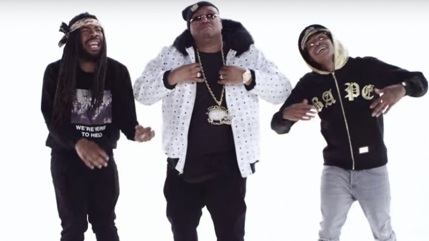E-40 ft Nef The Pharoah & D.R.A.M. - Slappin' (Official Video)