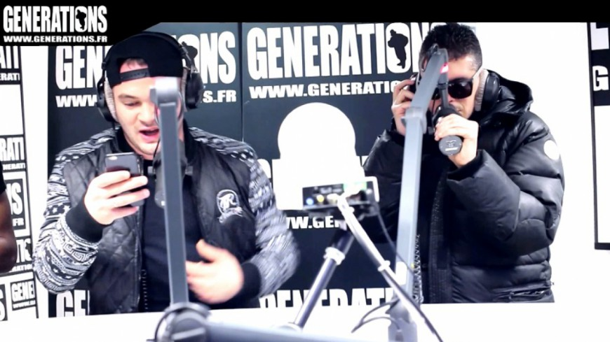 JUL & DJ Roc J - Freestyle (Live des studios de Generations)
