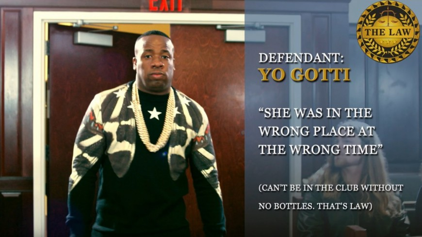 Yo Gotti passe devant le juge dans le clip de ''Law'' !