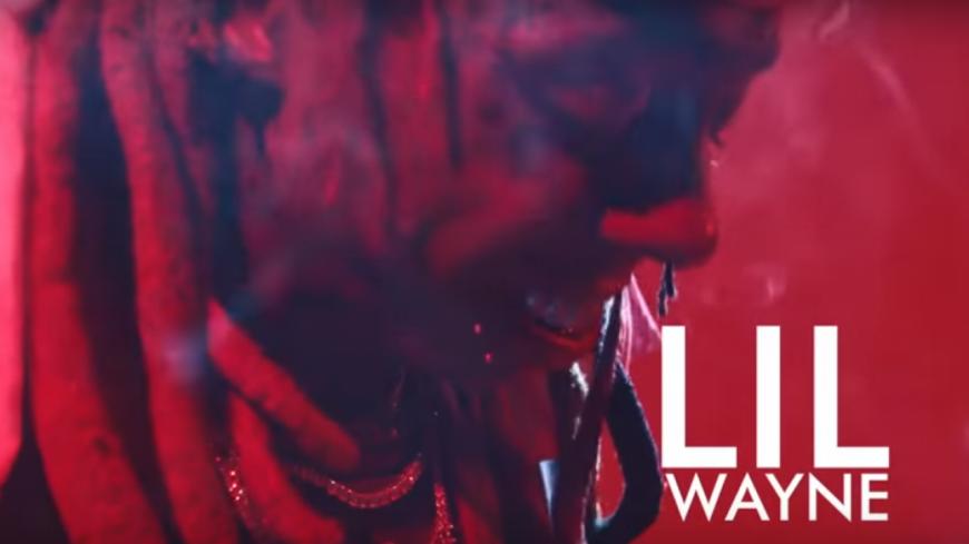 Lil Wayne lance le #Uproarchallenge dans son dernier clip !