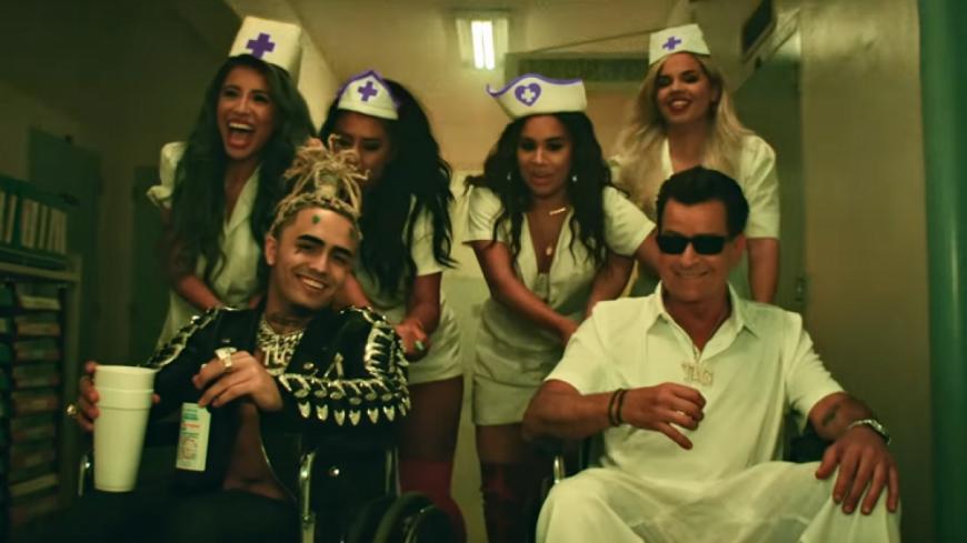 """Lil Pump et Charlie Sheen sont des """"Drug Addicts"""" !"""