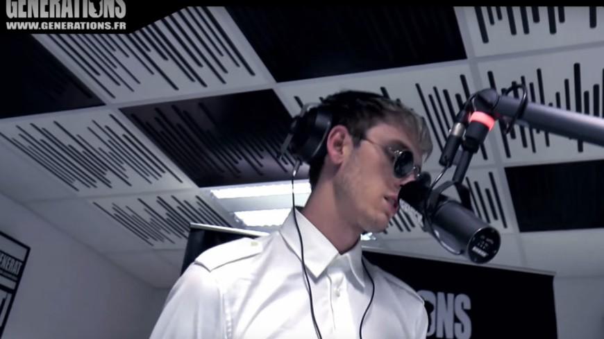 Machine Gun Kelly en live chez Générations !