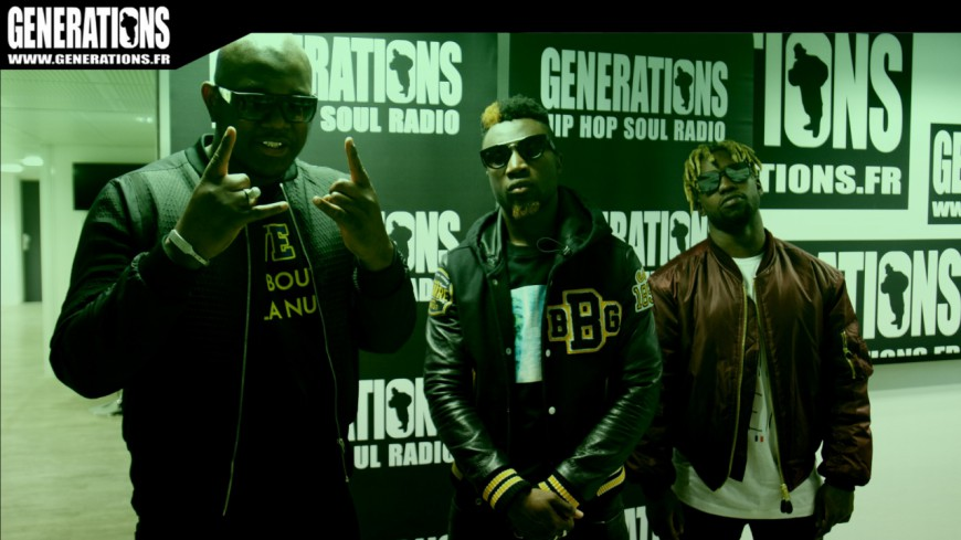 MZ - #BBB [Black Bottle Boys] (Live des studios de Generations)