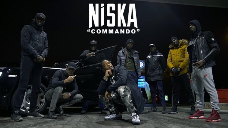 Niska débarque en mode ''Commando'' !