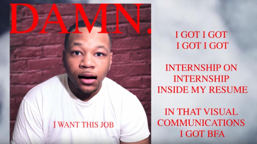 ''DNA'' de Kendrick Lamar en mode CV ça donne quoi ?