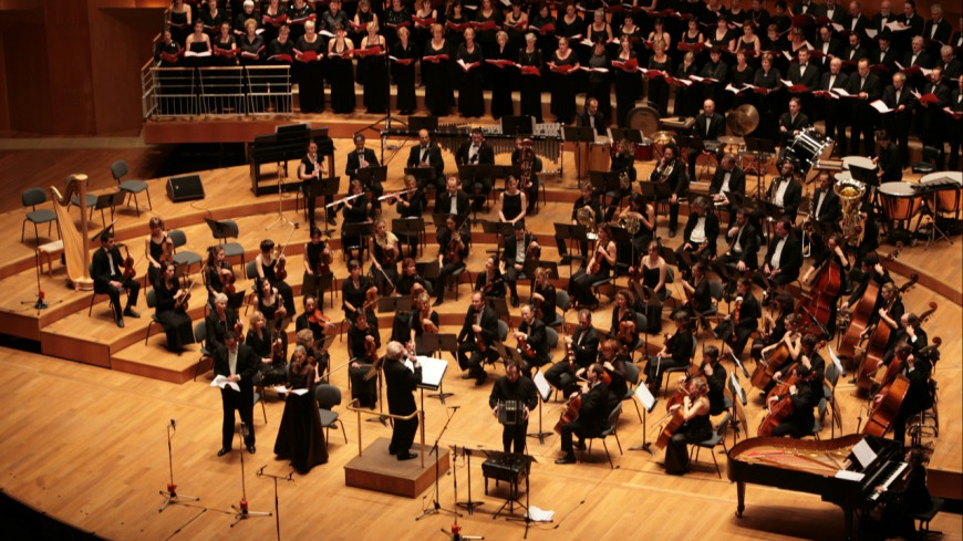 Un orchestre joue tous les classiques du Hip-Hop américain !
