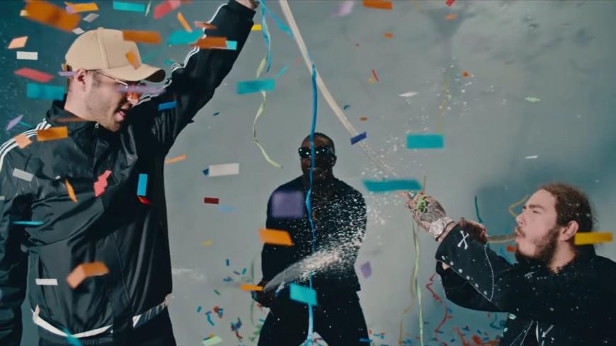 Post Malone et Quavo font péter le champagne dans ''Congratulations''!