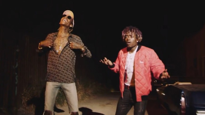 Wiz Khalifa & Lil Uzi Vert dans les rues de L.A pour ''Pull Up''
