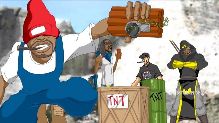 Snoop Dogg, Redman, Method Man et B-Real réunis sur ''Mount Kushmore'' !
