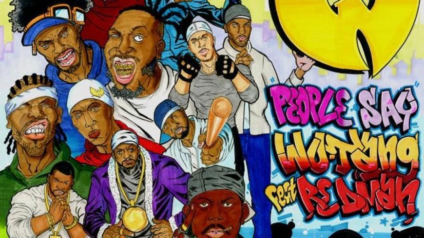 Le Wu-Tang Clan et Redman réunis dans ''People Say'' !