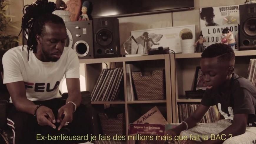 Youssoupha nous offre un freestyle avec son fils de 9 ans, Malik !