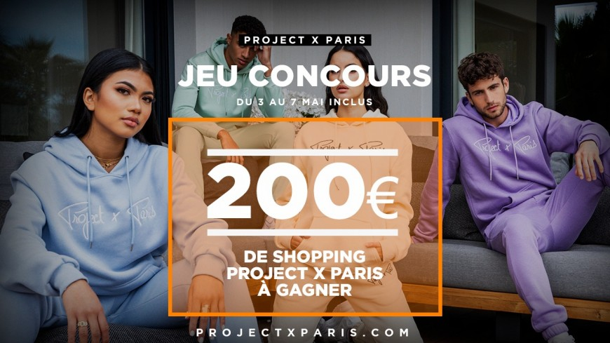 PROJETXPARIS - Bon d'achat de 200 euros