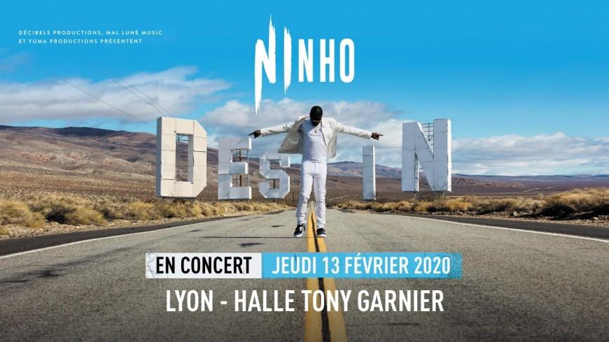NINHO • Halle Tony Garnier, Lyon • 13 février 2020