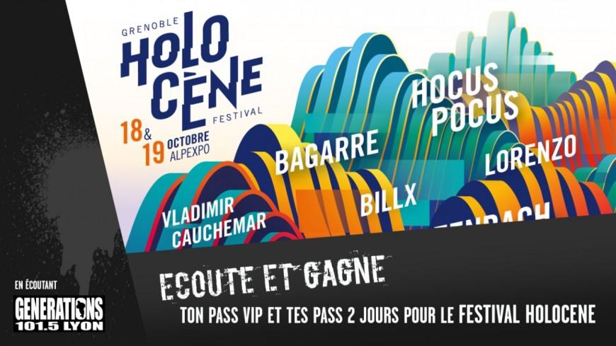 Generations t'invite au Festival Holocène le 18 et 19 octobre