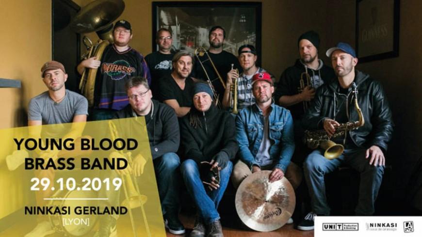 Young Blood Brass Brand au Ninkasi Gerland le 29 octobre !