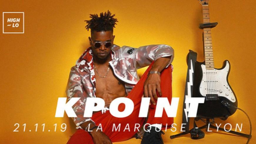 Kpoint en concert le 21 novembre à La Marquise