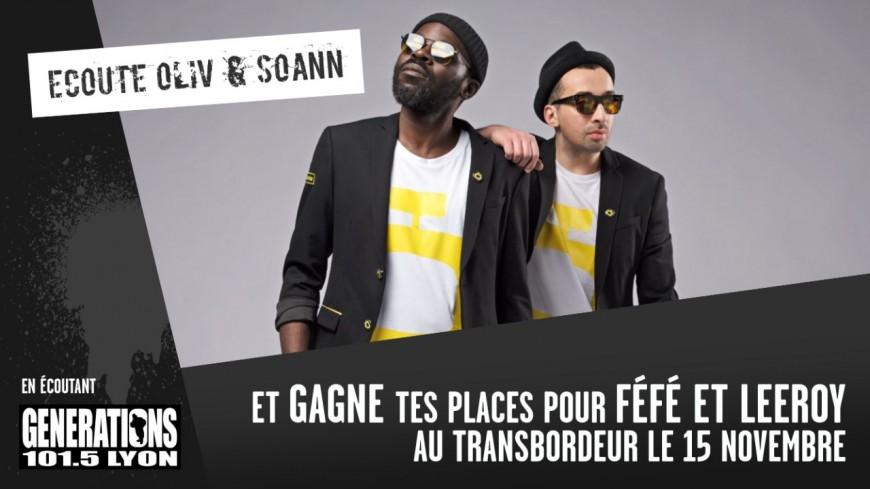 FéFé & Leeroy au Transbordeur le 15 novembre !