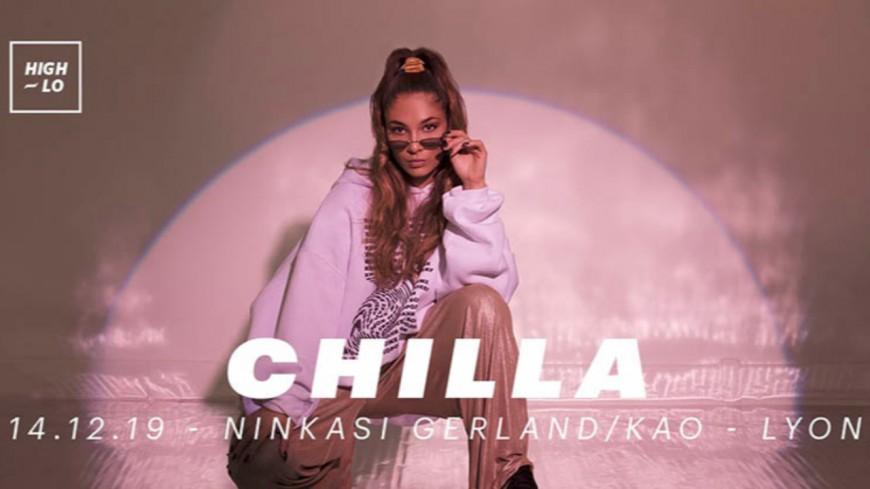 Chilla le 14 décembre au Ninkasi Kao