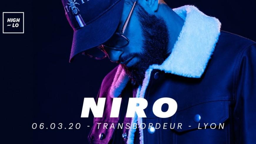 Niro au Transbordeur le 6 mars