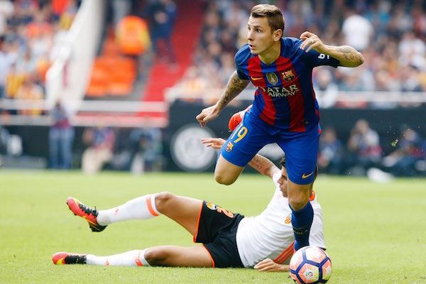 Lucas Digne espère rester au Barça !