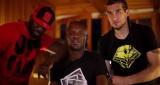 Sefyu en studio avec des joueurs du Barça !!!