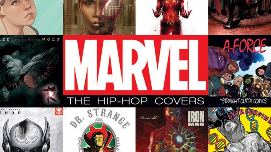 Marvel revient avec de nouvelles pochettes hip hop !
