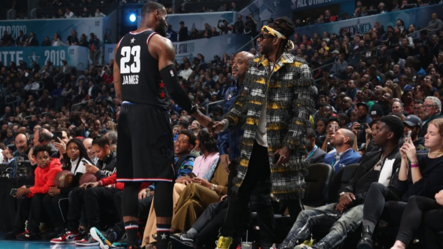 """2 Chainz : """"LeBron James est un historien du hip-hop"""""""