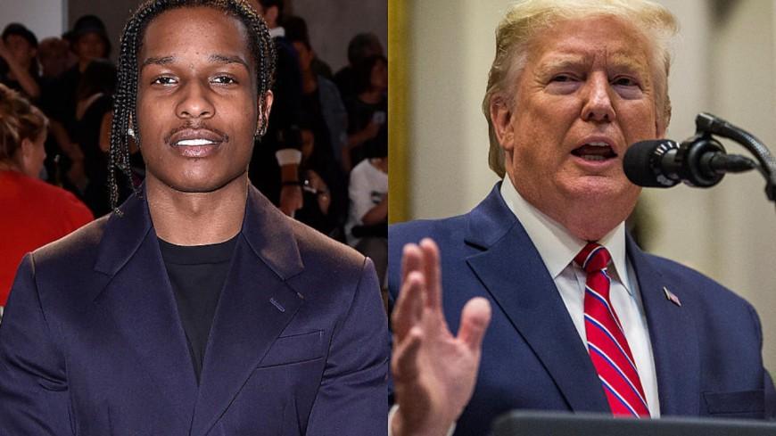 A$AP Rocky : son nom mentionné lors de l'impeachment de Trump !