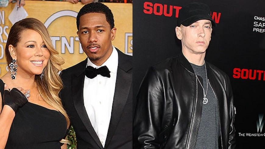 Eminem clashé par Nick Cannon dans un nouveau titre !